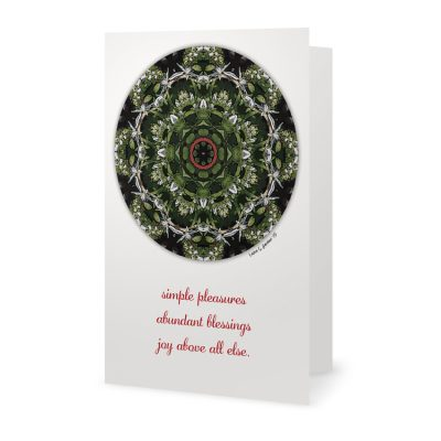 Celtic Christmas Holiday Card