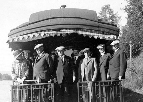 Wise Men: As the summer of 1923 heated up in more ways than those related to the weather, Harding and some of his above-board Cabinet members headed to cooler Alaskan climes.