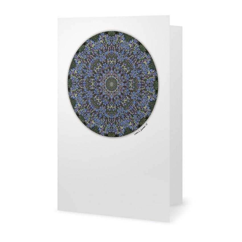 light blue lace mandala - photo #37