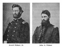 Jewett and John Alexander Palmer Civil War Portraits