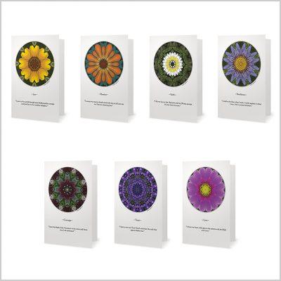 Flower Pop Affirmation Card Set