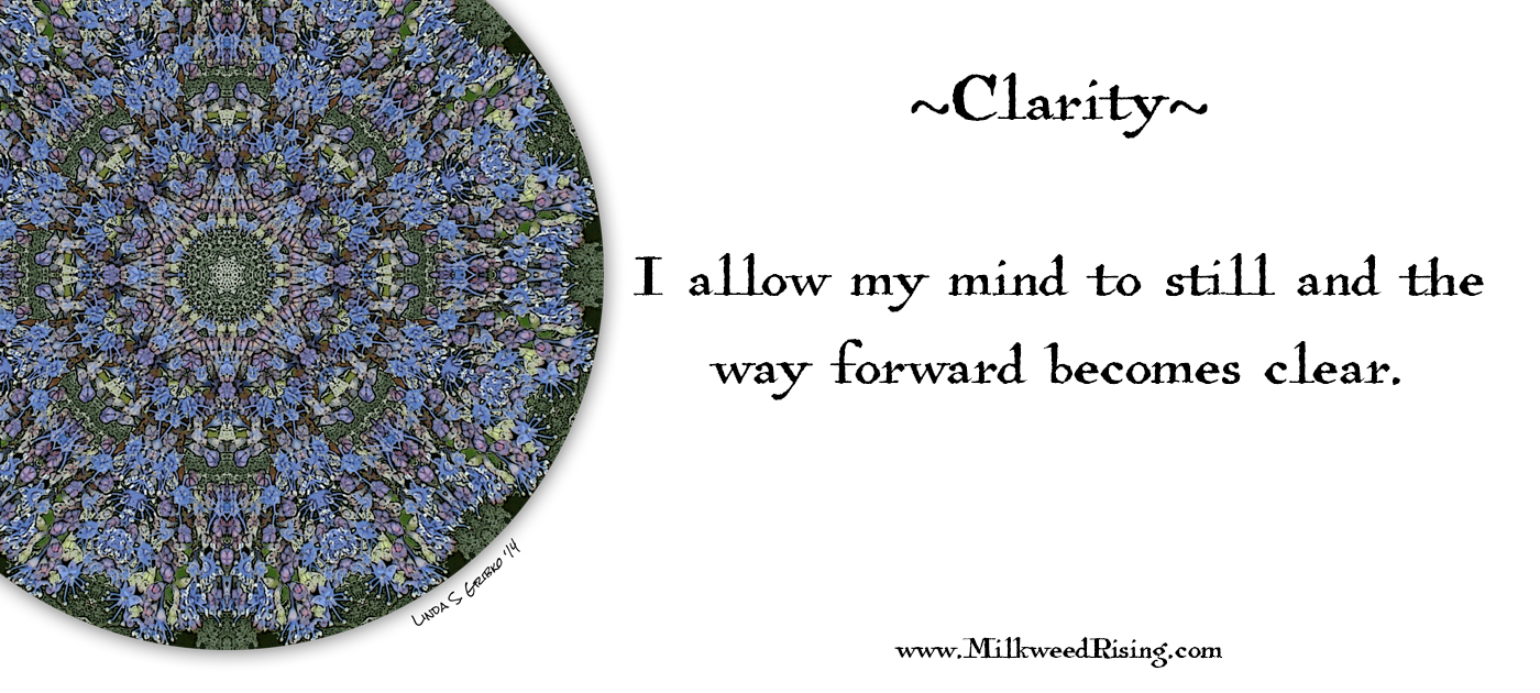 Clarity Affirmation Card
