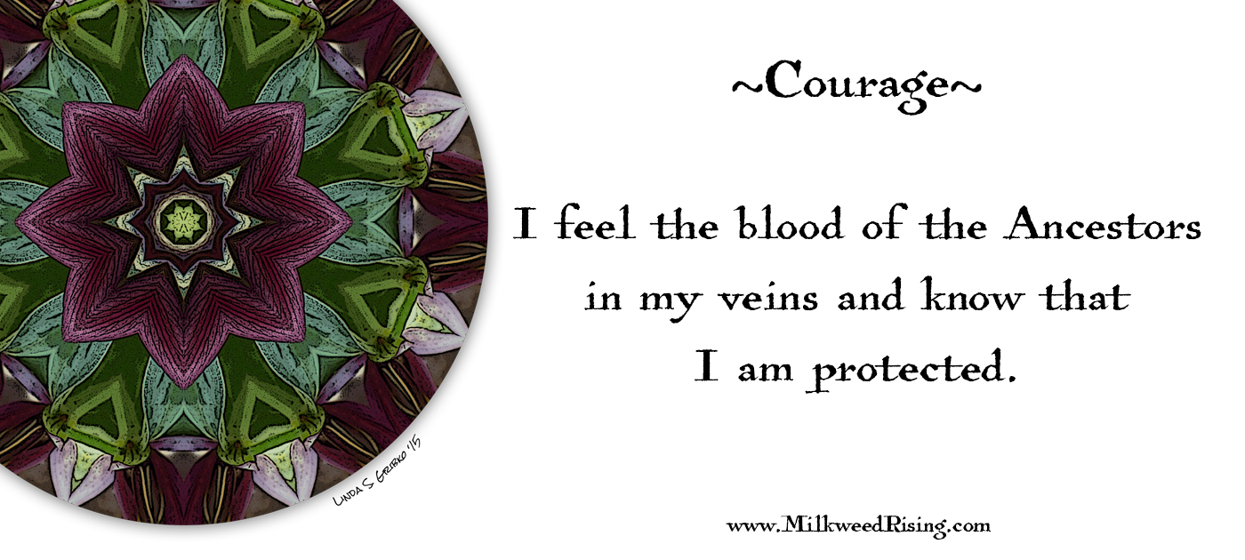 Courage Affirmation Card