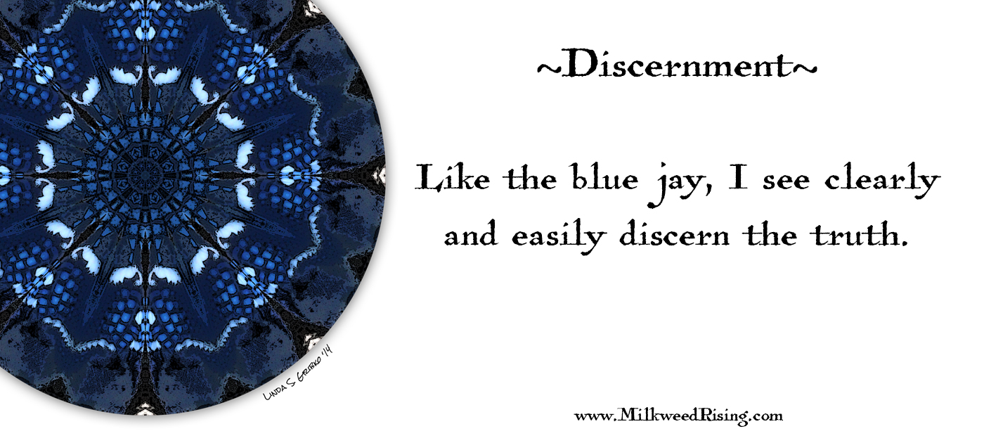Discernment Affirmation Card