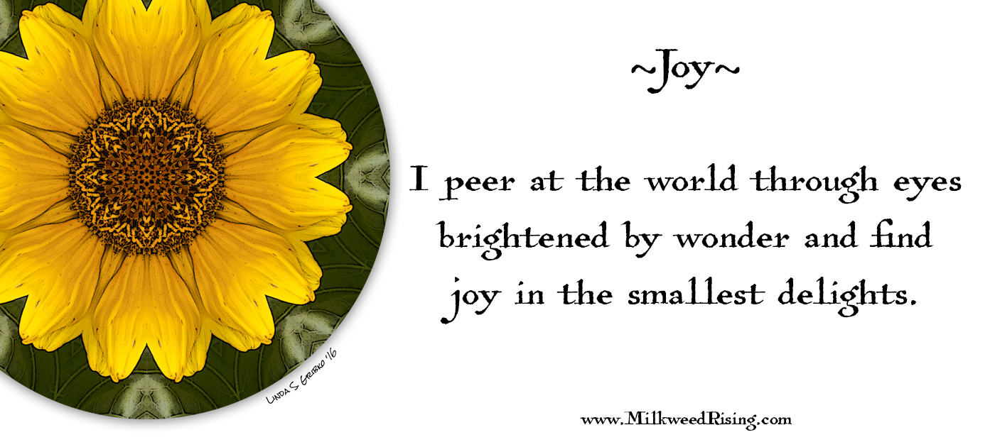 Joy Affirmation Card