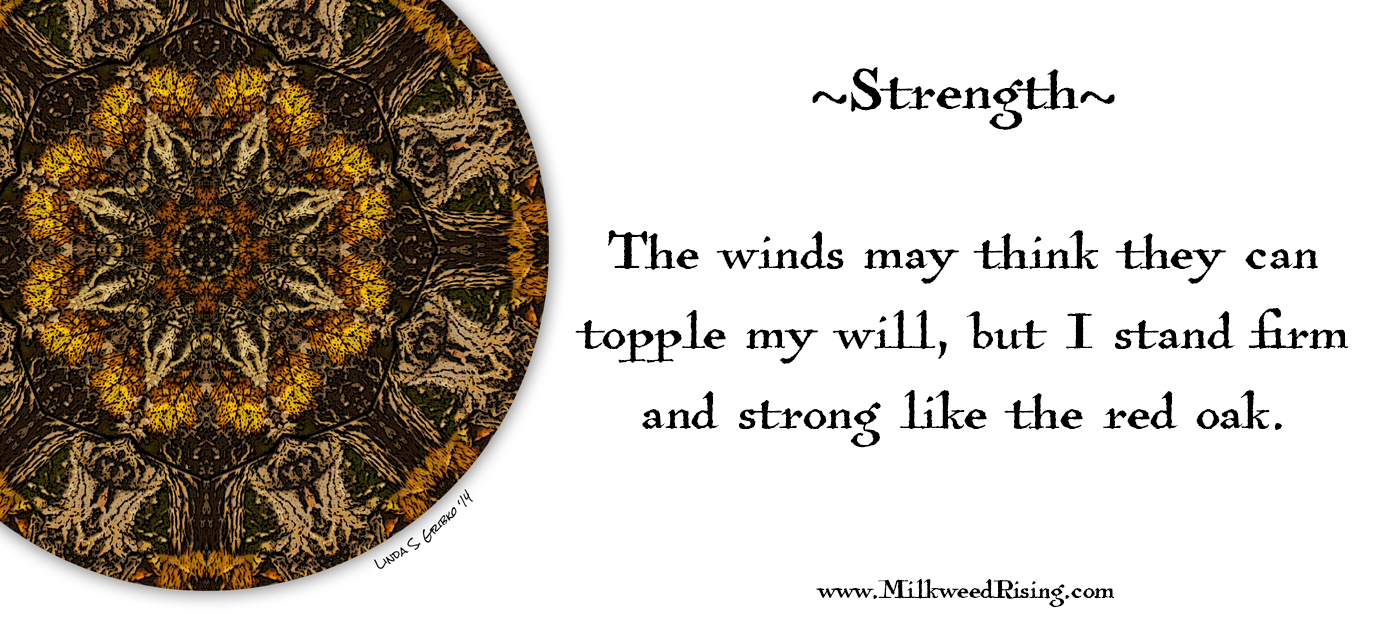 Strength Affirmation Card
