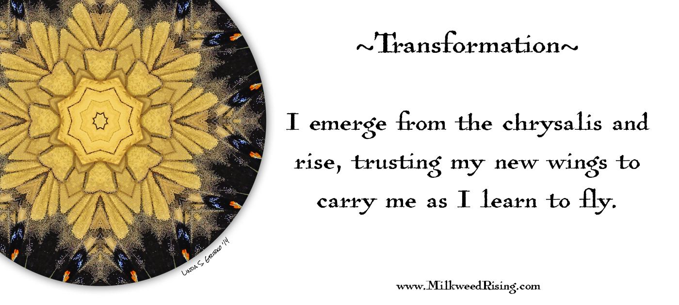 Transformation Affirmation Card