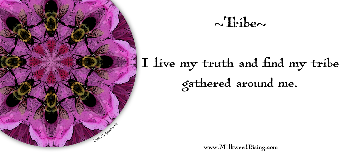 Tribe Affirmation Card