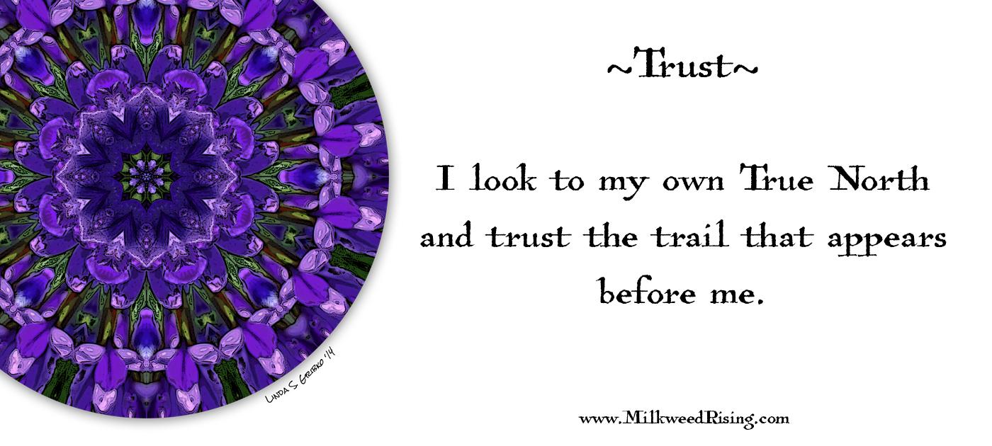 Trust Affirmation Card