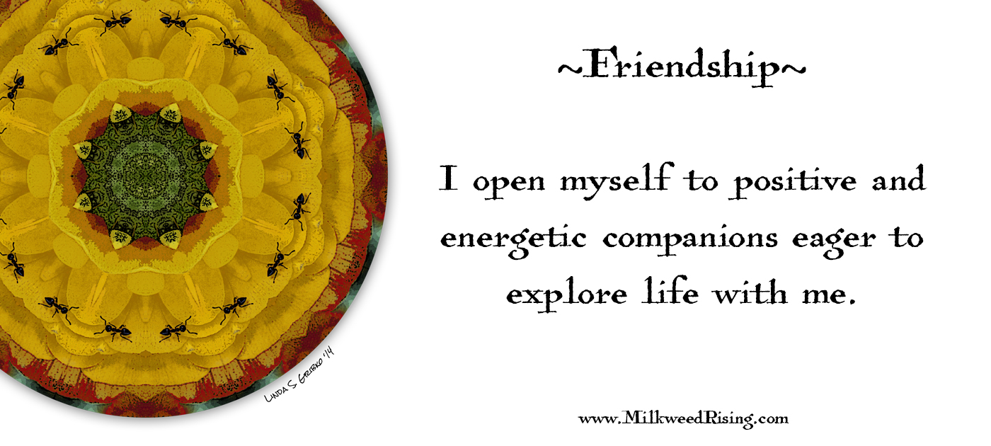 Friendship Affirmation Card